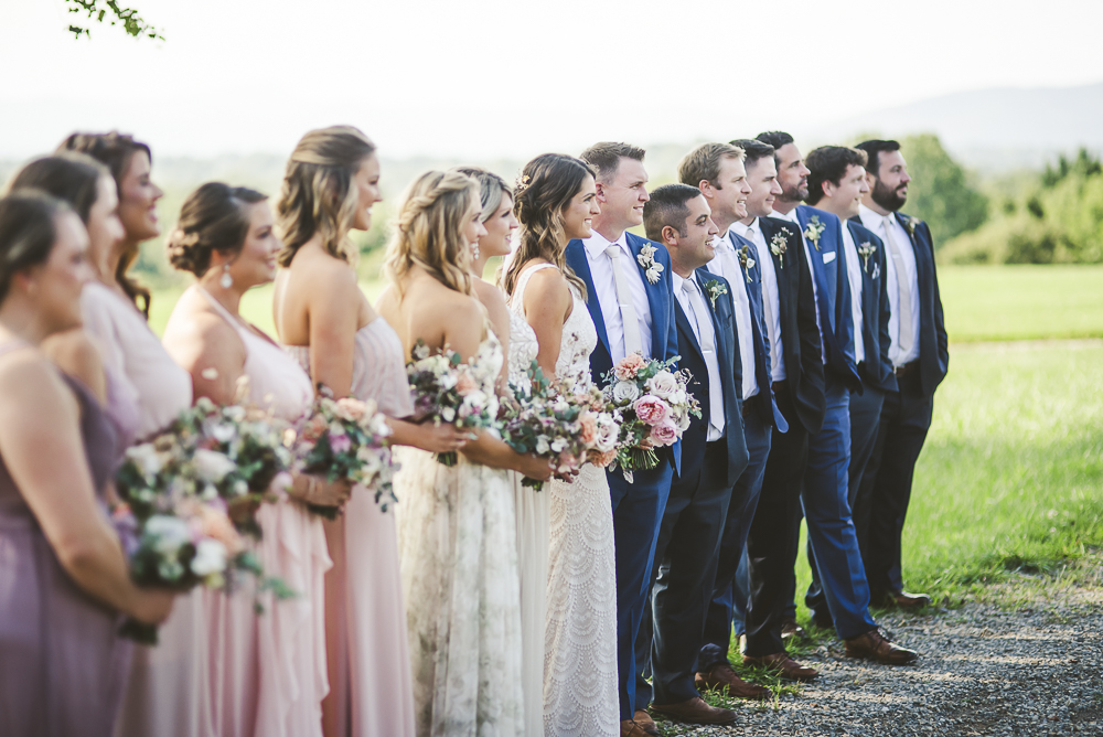 Pink Summer Floral Wedding